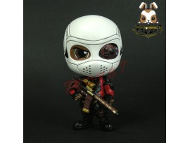 "Hot Toys Cosbaby 4"" Suicide Squad S1 Deadshot_ Figure #3 _Loose Now HT301YC"