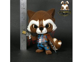 Hot Toys Cosbaby Bobble-Head Guardian Galaxy 2_ Rocket Loose Figure _Now HT334F