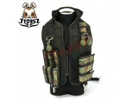 Hot Toys 1/6 Commando John Matrix_ Tactical Vest _Arnold Schwarzenegger HT217Q