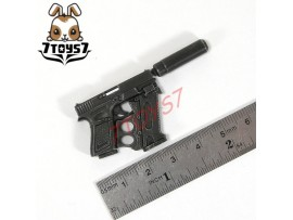Hot Toys 1/6 G.I.Joe Retaliation - Roadblock_ Pistol Set #1 _Dwayne Now HT168N