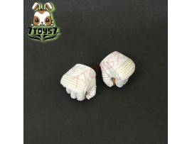 Hot Toys 1/6 G.I.Joe Retaliation: Storm Shadow_ Gloved Hands #1_Ninja NOW HT138C