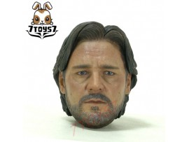 Hot Toys 1/6 Man of Steel - Jor-El_ Head _Russell Crowe Superman father HT158H