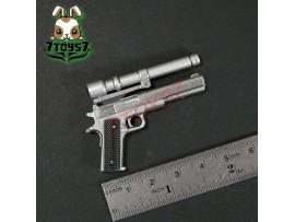 Hot Toys 1/6 Terminator T800 Battle Damaged_ Pistol w/ scope _Arnold Now HT173J