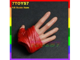 Hot Toys 1/6 Thor_ Hand#1_Right Relax Gloved NOW HT067C