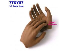 Hot Toys 1/6 TrueType TTM10_ Hand #1 _Relax Now HT007D