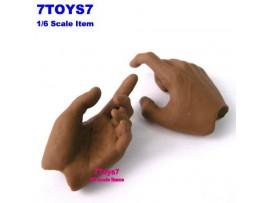 Hot Toys 1/6 TrueType TTM10_ Hand #2 _Grab Shoot Now HT007E