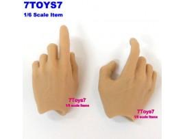 Hot Toys 1/6 TrueType TTM14_ Hands _Shooting Male HT032C