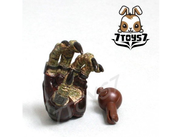 Hot Toys 1/6 Predators Tracker_ Hand#2 + Peg _ NOW Predators HT071D