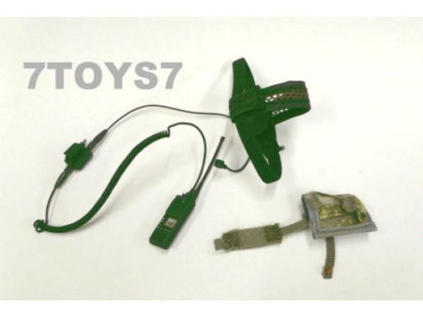HOT TOYS 1/6 CIA Commandos Group in Iraq(GOI) _ MBITR TASC Headset _ HTX09G