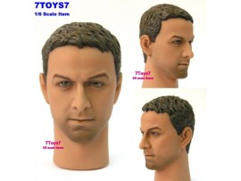Hot Toys 1/6 TrueType TTM08 Caucasian Male_ Head _figure toys Now HTX06G
