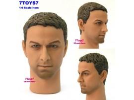 Hot Toys 1/6 TrueType TTM08 Caucasian Male_ Head _figure toys Now HTX06G