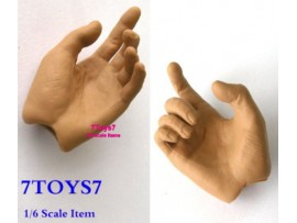Hot Toys 1/6 TrueType TTM09_ Hand #2 _Grab shooting Pair Now HTX07E