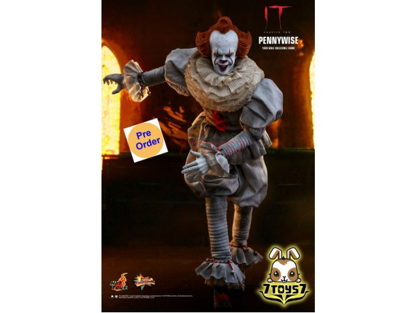 [Pre-order] Hot Toys 1/6 MMS555 IT Chapter Two: Pennywise_ Box Set _Stephen King HT439Z