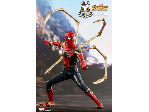 Hot Toys 1/6 MMS482 Avengers: Infinity War: Iron Spider_ Box Set _HT372Z