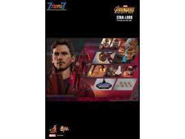 Hot Toys 1/6 MMS539 Avengers Infinity War Star-Lord_ Box Set _Chris Pratt Now HT475Z