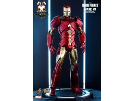 Hot Toys 1/6 MMS396 Iron Man 3 Mark XV - Sneaky Retro Armor Ver_ Box Set _HT324Z