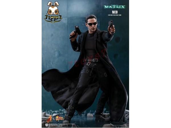 Hot Toys 1/6 MMS466 The Matrix - Neo_ Box Set _Keanu Reeves Movie HT415Z