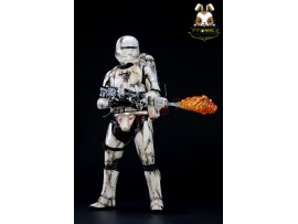 Sam Kwok 1/6 Custom Painting Hot Toys Star Wars First Order Flametrooper_DSN009D
