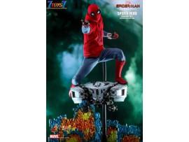Hot Toys 1/6 MMS552 Spider-Man Far from Home Homemade Suit Version_ Box Set _HT484Y