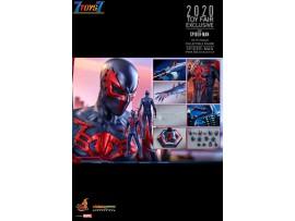 Hot Toys 1/6 VGM42 Spider-Man 2099 Black Suit_ Box Set _2020 Toy Fair Exclusive Marvel HT468Z