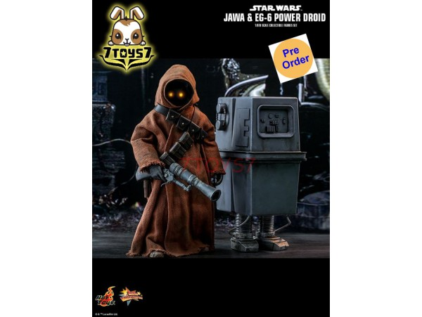 [Pre-order] Hot Toys 1/6 MMS554 Star Wars: Episode IV A New Hope - Jawa & EG-6 Power Droid_ Box _HT437Z