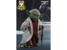 Hot Toys 1/6 MMS495 Star Wars Ep 2 Attack of the Clones: Yoda_ Box _Movie Now HT424Z