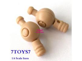 Hot Toys 1/6 TrueType TTM09_ Hand Pegs _Pair White New HTX07F