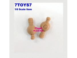 Hot Toys 1/6 TrueType TTM16_ Hand Pegs_ Caucasian HT034B