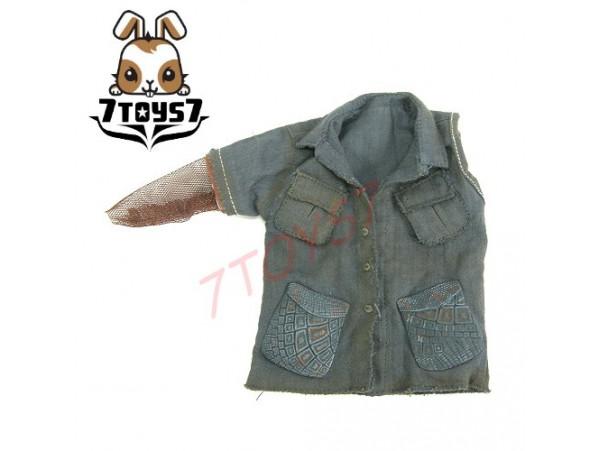 Hot Toys 1/6 Predators: Noland_ Grey shirt _NOW HT093G