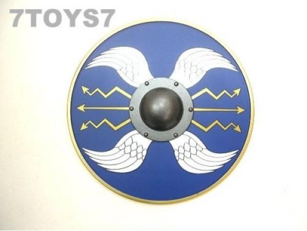 IGNITE 1/6 Signifer 032_ Blue Round Shield _Caesar Roman Legionary IG032B