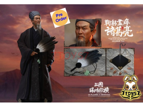 [Pre-order deposit] Inflames 1/6 IFT-041 Soul Of There Kingdoms Stratagems - Zhuge Liang (Older)_ Box Set _Romances of the Three Kingdoms IF026B