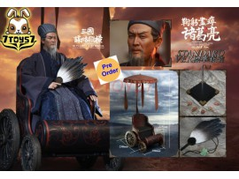 [Pre-order deposit] Inflames 1/6 IFT-042 Soul Of There Kingdoms Stratagems - Zhuge Liang (Older)_ Box Set w/ Wagon _Romances of the Three Kingdoms IF026Z