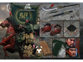Inflames 1/6 IFT-032 Soul Of Tiger Generals - Guan Yunchang & Chitu Horse_ Box Set _Romances of the Three Kingdoms IF020Z