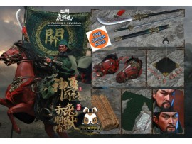 [Pre-order] Inflames 1/6 IFT-032 Soul Of Tiger Generals - Guan Yunchang & Chitu Horse_ Box Set _Romances of the Three Kingdoms IF020Z