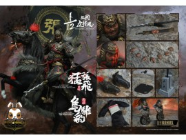 Inflames 1/12 IFT-034 Sets Of Soul Of Tiger Generals - Zhang Yide w/ The Wuzhui Horse_ Box Set _IF021Y