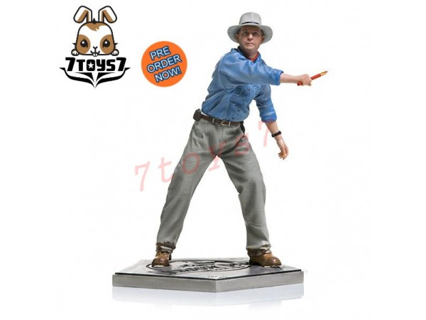 [Pre-order] Iron Studios 1/10 Jurassic Park - Alan Grant_ Statue _IN018Y