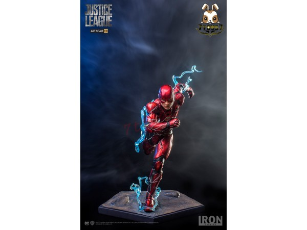 Iron Studios 1/10 Justice League - The Flash_ Statue _IN010Z