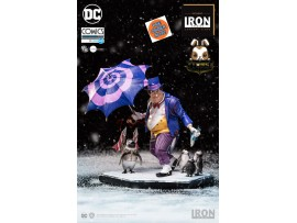 [Pre-order] Iron Studios 1/10 S3 DC Comics The Penguin Deluxe_ Statue _ by Ivan Reis IN012Y