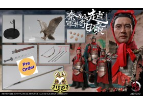 [Pre-order] JSModel 1/6 MN010 Warring States series Qin army defecting - Zhao Kuang_ Box Set _JSM007Z