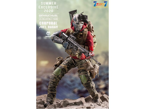 Jackal X 1/6 Ophiuchus Corporal Summer Exclusive 2020 Joel Hagan_ Red Box _JKL004Z