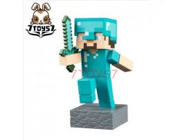 "Jinx 4"" Minecraft Adventure Figures - Diamond Steve_ Vinyl Figure _UBX002B"