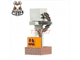 "Jinx 4"" Minecraft Adventure Figures - Skeleton with Bow_ Vinyl Figure _UBX002D"