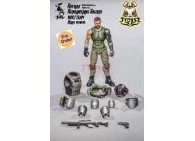 [Pre-order] Joy Toy 1/18 Russian Reengineeroing Soldier - Boris_ Figure Set _ JO013C