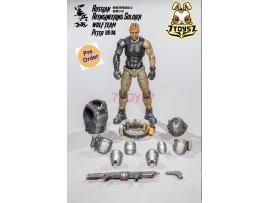 [Pre-order] Joy Toy 1/18 Russian Reengineeroing Soldier - Peter_ Figure Set _ JO013A