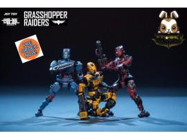 [Pre-order] Joy Toy 1/24 Grasshopper Raiders Set /3_ JO010V