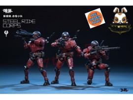 [Pre-order] Joy Toy 1/24 Red Steel Ride Corps Set /3 _ JO010Y