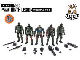 [Pre-order] Joy Toy 1/24 UNSC Ninth Legion Set /5_ JO010Z