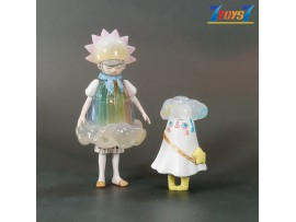 Kaiyodo Sighing River S3_ Figurine #5 _Steven Choi Zu & Pi KD033E