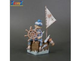 Kaiyodo Sighing River S3_ Figurine #6 _Steven Choi Zu & Pi KD033F
