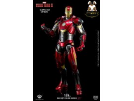 King Arts 1/9 DFS017 Iron Man 3 Mark XVI 16_ Diecast Box Set _Movie KR047Z